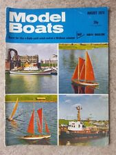 Model Boats Magazine August 1974 Vol 24 Issue 283