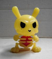 "Kidrobot Dunny 2011 Kronk GID Build-A-Dunny Skeleton Bones w/ ""substitute"" heart"