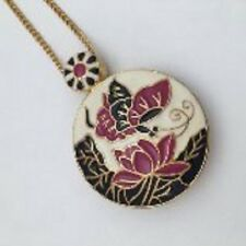 Vintage Urban Outfitters Enamel Butterfly Pendant Necklace (RRP £19.99) 20% Disc