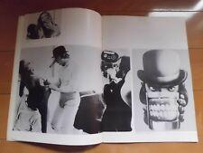 Stanley Kubrick A CLOCKWORK ORANGE movie Program  japan