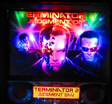 TERMINATOR 2 Complete LED Lighting Kit custom SUPER BRIGHT PINBALL LED KIT