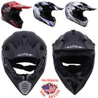 DOT Adult Motocross Off-Road ATV Mountain Dirt Bike Snowmobile Bike Helmet M-XXL
