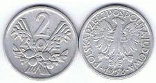 2 Zl 1958 Aehren und Obst Alu RRR