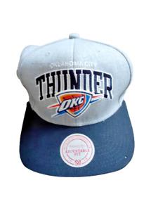 Oklahoma City Thunder OKC Official NBA Baseball Cap Mitchell & Ness