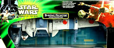 B-WING FIGHTER & SULLUSTAN PILOT STAR WARS POWER OF THE JEDI COLLECTION HASBRO