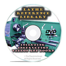 Learn To Run A Lathe How To Do Metal Turning And Spinning Instructional Dvd V23