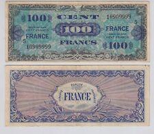 Billet du Trésor 100 FRANCS (France) Série 5  4 Juin 1945 Billet N°10909999