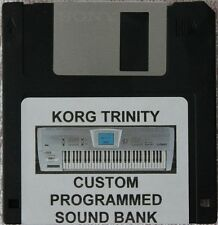 Korg Trinity custom programmed sounds disk