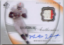 montario hardesty rc rookie auto jersey patch tennesee vols college 2C #/499