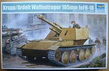 TRUMPETER® 01586 German Krupp/Ardelt Waffentrager 105mm leFH-18 in 1:35