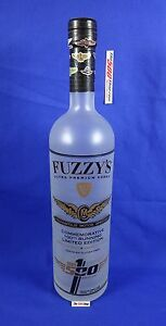 Fuzzy's Vodka 100th Running 2016 Indianapolis 500 Commemorative Empty Bottle