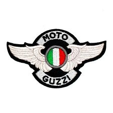 Moto Guzzi racer Ton up Rocker Leather Boy Vintage Motorcycle Suit Iron on Patch