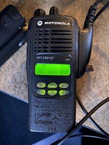 Motorola HT1250 LS+ UHF 403-470 Free Programming AAH25RDH9DP5AN