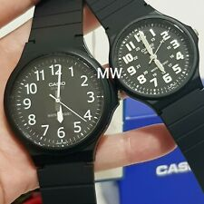 Casio Watch MW-240-1B MQ-24-1B Black Resin Analog Quartz COUPLE LOVER PAIR Gift
