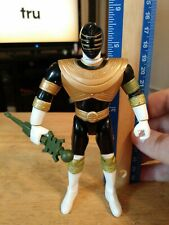 PZ Power Rangers ZEO Staff Whirling GOLD Ranger action figure COMPLETE 1996