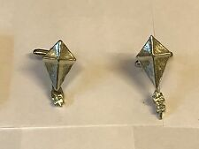 From English Modern Pewter Kite Tg154 Cufflinks Made