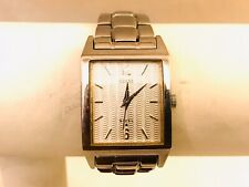 Guess Wrist Watch For Women Small Wrist Stainless Steel Works Well