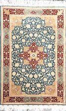 Rug 3 by 5 Handmade Silk Rug Oriental Handcraft Carpet Original cocoon silk New