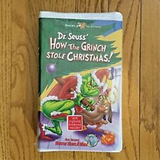 How The Grinch Stole Christmas 2000 Vhs.The Grinch Vhs Tapes For Sale Ebay