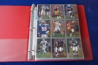 1994 UPPER DECK SP COMPLETE 200 CARDS FOOTBALL SET IN PLASTIC PAGES