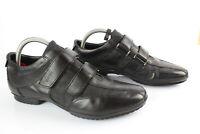 GEOX Chaussures Cool Hommes Slip On Sneaker Nébuleuse Noir
