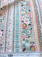By yard AGF art gallery fabrics Indie Boheme floral pattern cotton fabric