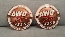 Simson  awo 425 Sport  emblems pair  for sale  item DDR product