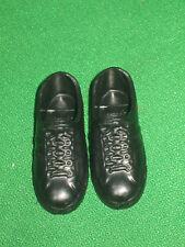 Ken Shoes- Black Athletic Shoes-1990's-Barbie