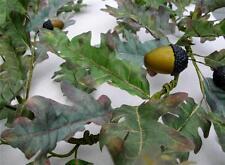 "Autumn Oak Leaf & Acorns Garland Fall Decoration Thanksgiving Home Decor 60"""