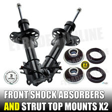 VAUXHALL ASTRA H MK 5 V PAIR FRONT SHOCK ABSORBERS & STRUT TOP MOUNTS  X 2