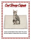 """Cool Breeze Litter box Catpads 16.9"""" x 11.4"""" Infused w/Baking Soda  Polymer Gel"""