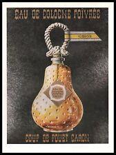 Publicité Parfum Caron  perfume  photo vintage  ad  1957 -9i