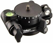 Velbon tripod accessories Precision leveler leveling unit and panoramic head bot