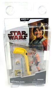 STAR WARS SDCC Exclusive - Legacy Luke Skywalker Pilot Smiling NEW MISB  3.75