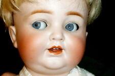 Alte Porzellankopfpuppe Kestner 680 5 K&H Kley & Hahn Puppe Puppen Dolls poupee