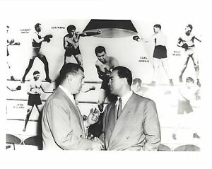 JACK DEMPSEY & MAX SCHMELING 8X10 PHOTO BOXING PICTURE