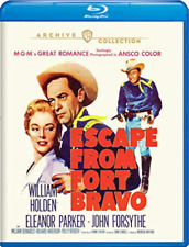 Escape From Fort Bravo (william Holden Eleanor Parker John Forsythe) Blu-ray