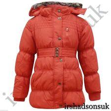 Vêtements imperméable rouge pour fille de 2 à 16 ans Hiver