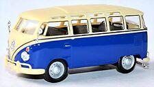 VW Volkswagen T1 Bulli Samba Bus Microbus Deluxe 1951-67 bleu & 1 blanc:43
