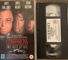 Confessions Two Faces Of Evil - odyssey - VHS VIDEO.