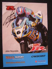 Rizla Crescent Susuki GSX-R1000 WSB 2003 #6 John Reynolds (GBR) Signed