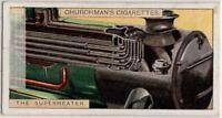 Steam Engine Train Superheater Smokebox 1920s Trade Ad Card