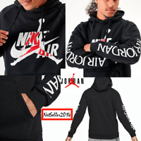 SZ XL 🔥🆕 Nike Jordan Jumpman Classic Fleece Warm Up Hoodie Men's Sweatshirt