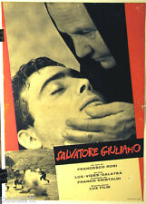 fotobusta originale SALVATORE GIULIANO Francesco Rosi 1961