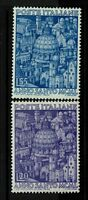 Italy SC# 533 and 534, Mint Hinged, Hinge Remnant - S3791
