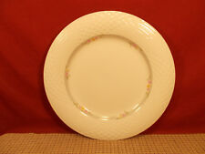 "China Pearl Dinnerware Emerald Platinum Trim Dinner Plate 10 1/4"""