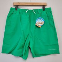 "NWT Columbia PFG Backcast III Size Large / 8"" Men's Water Shorts Dark Lime Green"