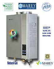 Marey Natural Gas 5.4 GPM GA16NGETL Tankless Water Heater Factory Refurbished