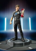 Iron Man Tony Stark Tony's Powered Stage PVC Action Figure Collectible Model Toy