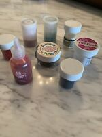 8 Jars Embossing Powder Lot Snow White Fun Flock~Stamp Affair~Glitter Glue